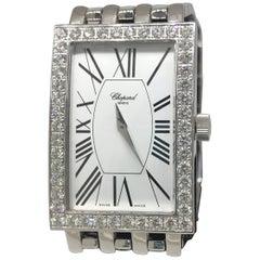 Chopard Les Classique White Gold Diamond Bezel White Dial Bracelet Ladies Watch