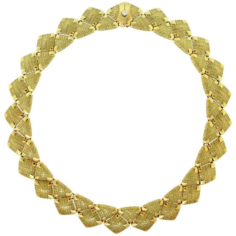 Alex Sepkus Necklace with Diamond Catch