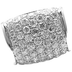 Bulgari Diamond White Gold Ring