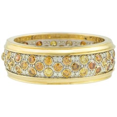 Fancy Coloured Diamond Bangle 25.05 carats