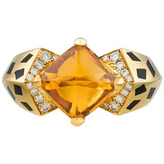 Cartier Citrine Panthère Ring