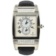 De Grisogono White Gold Diamond Instrumento No. Uno automatic Wristwatch