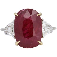 11.50 Carat GIA Certified Ruby Ring