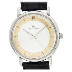 Hamilton Stainless Steel Sea Guard Automatic Wristwatch, circa 1961