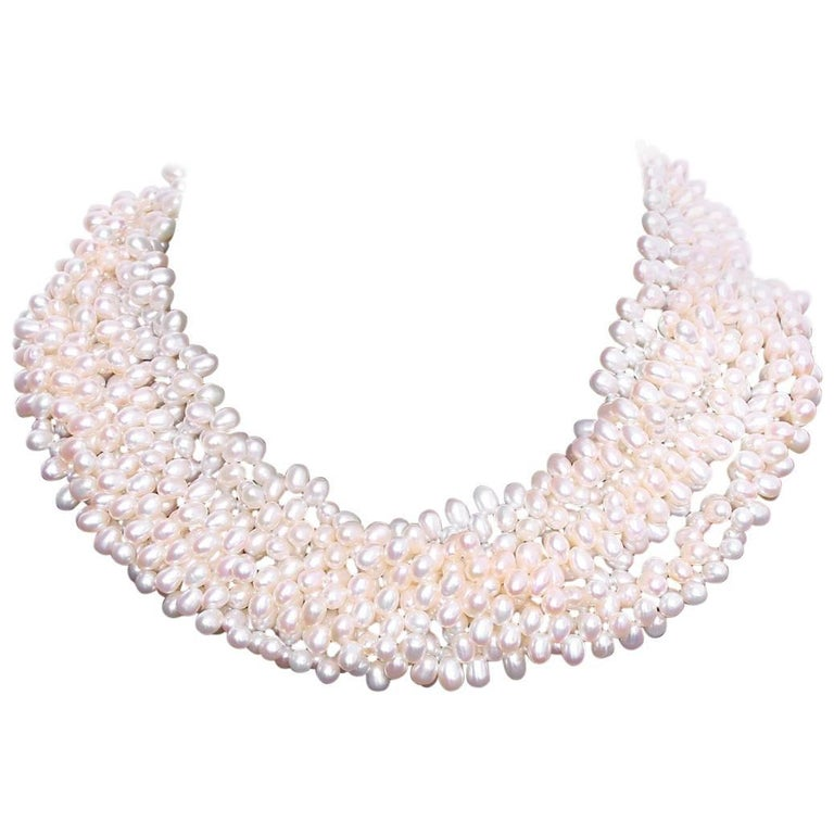 Tiffany & Co. Pearls by Paloma Picasso Freshwater Strand Necklace