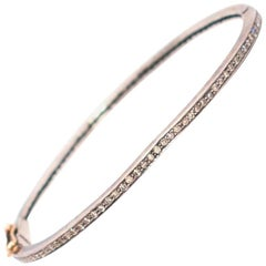 Bespoke Thin Diamond Bracelet