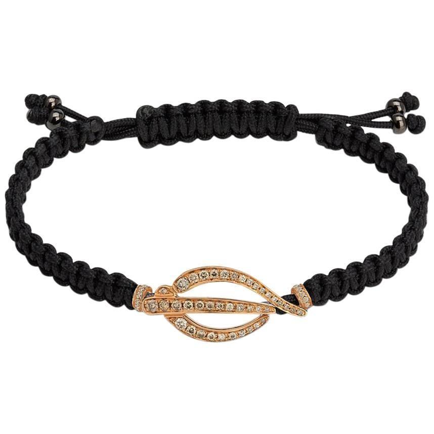 Rosenblat Fashion Bracelet Rose Gold and Diamonds