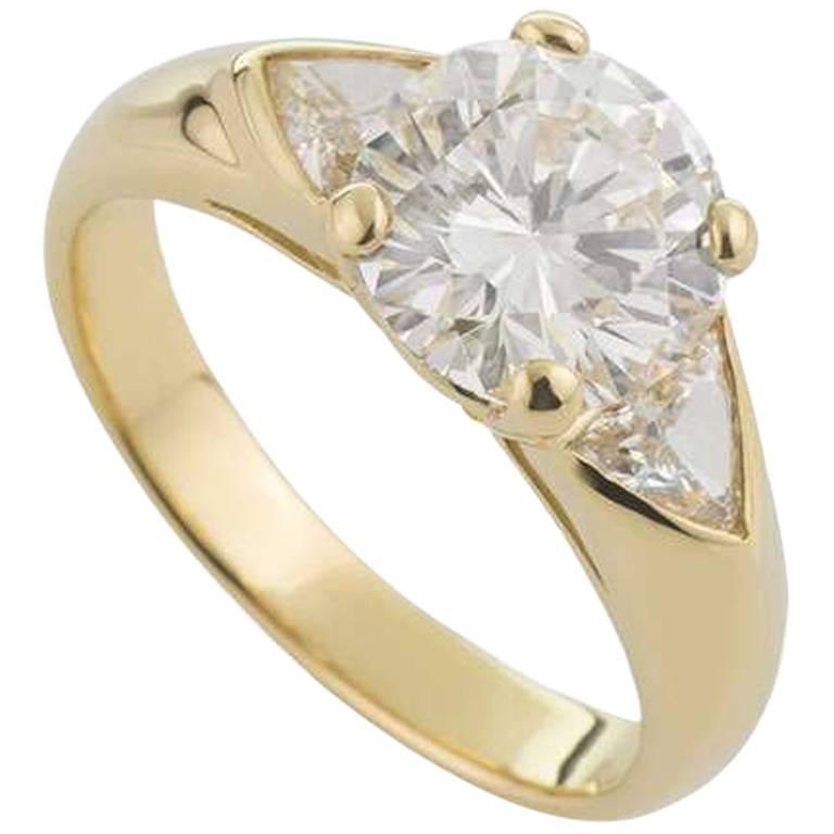 Cartier Diamond Engagement Ring 2.50 Carat