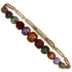 Victorian Multi Gem Bracelet