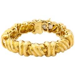 Gold Bracelet by Henry Dunay