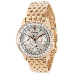 Breitling Navitimer Montbrillant H30030 Men's Watch in Rose Gold