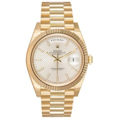 Rolex Yellow Gold Day-Date 40 President automatic wristwatch Ref 228238
