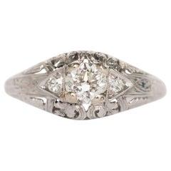 .25 Carat Diamond Platinum Engagement Ring