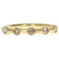 Hazel II 18 Karat Yellow Gold Rosecut Diamond Ring