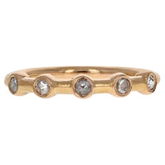 Hazel II 18 Karat Rose Gold Rosecut Diamond Ring