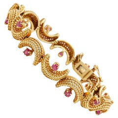 Tiffany & Co. Ruby Vintage Bracelet