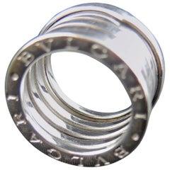 Bulgari B Zero 1 White Gold Ring