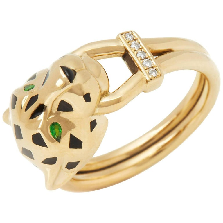 Cartier Panthère Yellow Gold Ring