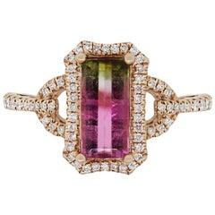 1.25 Carat Tourmaline Ring