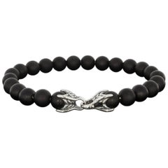 David Yurman Black Onyx Spiritual Bead Bracelet