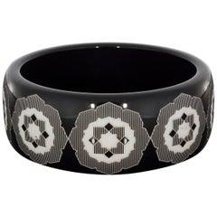 Tiffany & Co. Palamo Picasso Resin Zellige Bangle Bracelet
