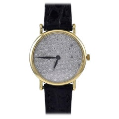 Piaget Ladies Yellow Gold Diamond Manual Wind Wristwatch