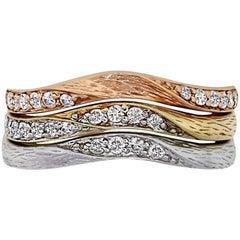 0.36 Carat Diamond Stackable Rings