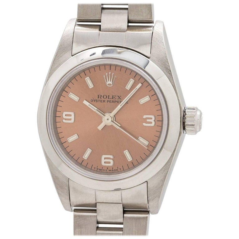 Lady Rolex Oyster Perpetual Ref 76080, circa 1998