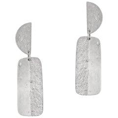 Allison Bryan Silver Articulated Earrings