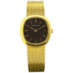Full 18 Karat Yellow Gold Ladies Audemars Piguet Wristwatch, France, circa 1990s