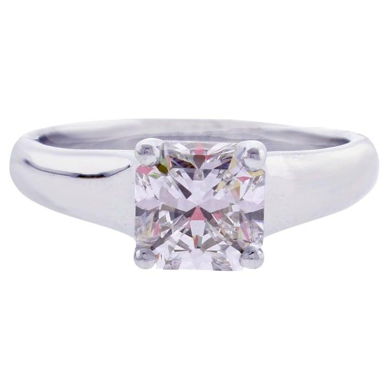 Tiffany & Co. Lucida 1.44 Carat F-VS2 Diamond Engagement Ring