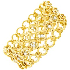 French 1960s Gold Bracelet