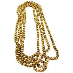 Antique Victorian Long Chain