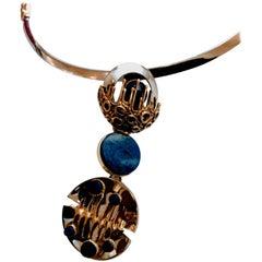 1960 Uno a Erre Design Lapis Necklace