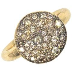 Pomellato Champagne Diamond 18 Karat Rose Gold Ring