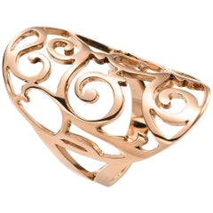 Mattioli Siriana Oval Ring in 18 Karat Rose Gold