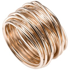 Mattioli Tibet Multi Wire Ring in 18 Karat