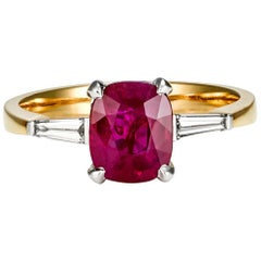 Ruby and Diamond Ring by Matthew Ely