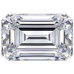 GIA Certified 1.02 Carat F Color SI1 Clarity Cut-Cornered Rectangular Diamond