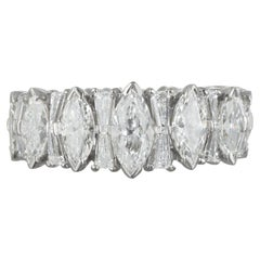 Platinum Diamond Eternity Band 6.0 Carat