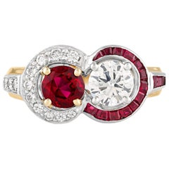 Ruby and Diamond Ring by Raymond Yard