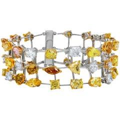 Multi-Color and Multi-Shaped 38.00 Carat of Diamonds