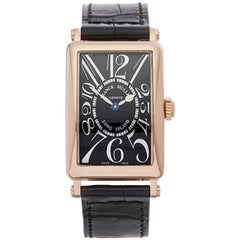 Franck Muller Long Island 18 Karat Rose Gold Women's 902QZ