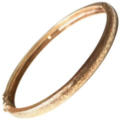 1970s 14 Karat Gold Bracelet