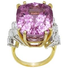 41.83 Carat Kunzite Ring