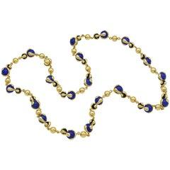 Marina. B Cardan Blue Necklace