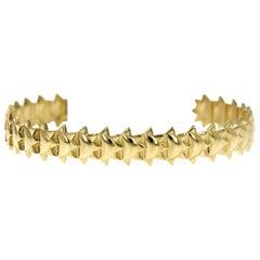 Ceci Cuff 18 Karat Gold