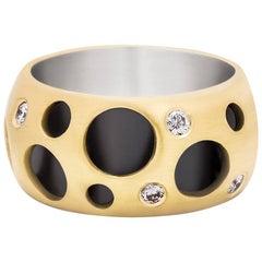 Signature Diamond Hollow Ring