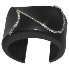 Wow! Kara Ross Ebony Diamond Cuff