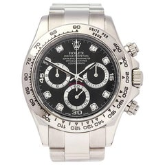 Rolex Daytona Chronograph 18 Karat White Gold Men's 116509